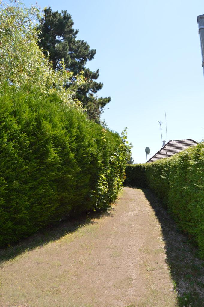Chemin piéton Salouël