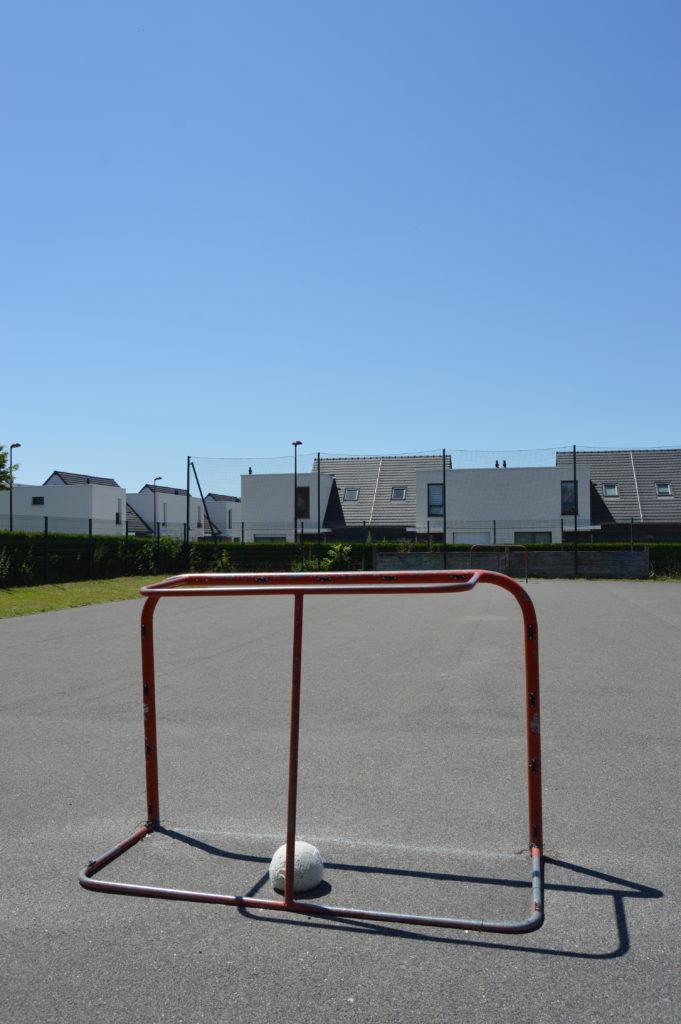 Terrain de street hockey à Salouël