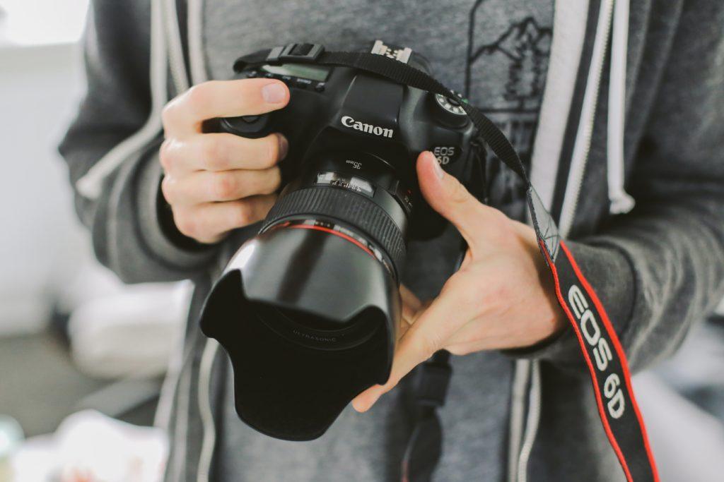 Photographie d'un appareil photo